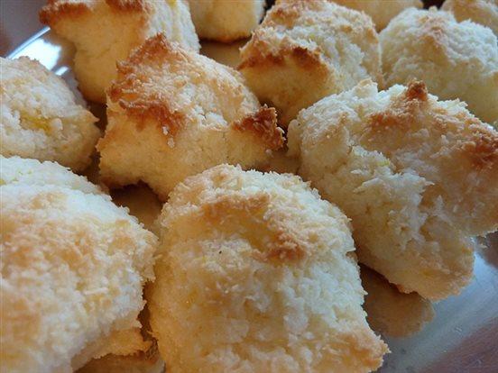 Kokosové pusinky, kokosové hrudky